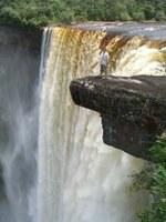 Steve on Kaieteur Falls