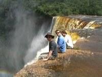 Sitting in Kaieteur Falls