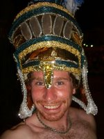 Steve with a Stolen Headdress