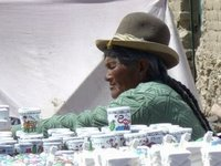 Typical Bolivian Woman