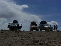 Our Jeep Convoy