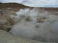Steaming Holes of Bubbling Mud
