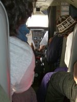 Looking Down The Aeroplane