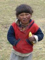 Mucky Kid at Village Tuni With My Banana