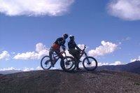 Sean & Steve, Downhill Mountain Bikers