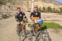 Steve & Sean, Downhill Mountain Bikers