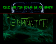 'A screenshot of the 'Terminator' demo